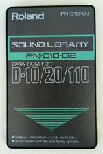 Roland ROM-Card PN-D10-02 Rhythm & Bass für D-10/20/110 - Lagerabverkauf