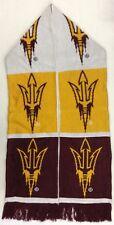NCAA Arizona State Sun Devils Adidas Winter Knit Fringe Scarf Style # S620Z NEW!