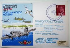 1978 Commemorating Arrival Of JU 52 3M At The RAF Museum COVER spanish cancel