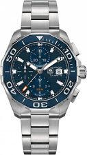 CAY211B.BA0927 TAG Heuer Men's Aquaracer Analog Display Silver Automatic Watch