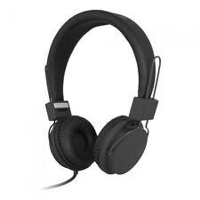 Auvio Folding Headphones with Mic - Black  (IL/PL1-1556-3300936-UG)