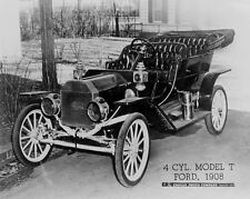 New 8x10 Photo: 4 Cycle Model T Ford Automobile - 1908 - The Tin Lizzie