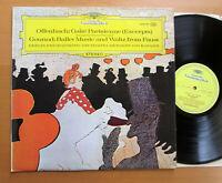 DG 2530 199 Offenbach Gaite Parisienne Gounod Faust Karajan Berlin Phil 1972 NM