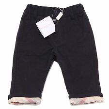 8009Q pantaloni blu bimbo BURBERRY pantalone trousers kids