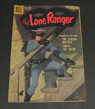 Vintage 1959 Vol. 1, No 129 Lone Ranger Dell Golden Age Comic Book Photo Cover