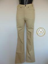 Vintage 80 SPITFIRE XS S 28 Pantaloni Leggeri Beige Donna NUOVO 70 NOS Old Stock