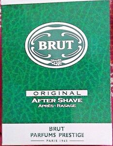 Brut ORIGINAL Aftershave Lotion 100 ML Boxed