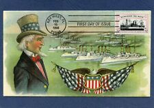 Sc #3192 Remember The Maine H&M Cachets First Day Cover
