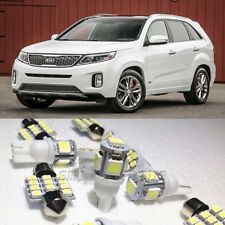 14×Xenon White LED Interior Light Package Kit for KIA Sorento 2011-2014