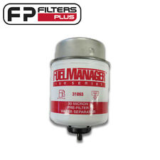 31863 - Fuel Manager Filter - 30 Micron - Removes 99% of Water From Fuel
