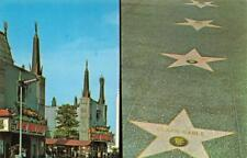 HOLLYWOOD, CA California   GRAUMAN'S~West Side Story~CLARK GABLE STAR  Postcard