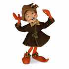 Annalee Dolls 2021 Thanksgiving 9in Fall Elf Plush New with Tag