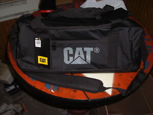 Caterpillar Project Duffel Bag Small, Black 83024-84 Yellow Stone