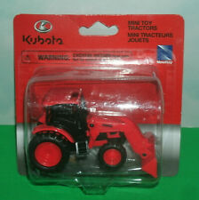 1/48 Scale Kubota M5-111 Farm Tractor with Bucket Loader Toy - New Ray SS-33192