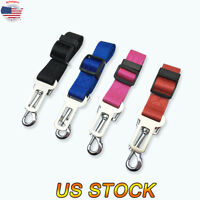 Pet Dog Travel Seat Safe Belt Nylon Training Leash Dog Traction Rope Strap Chain