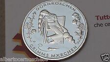 10 euro 2015 Germania Allemagne Alemania addormentata dornroeschen Grimm marchen