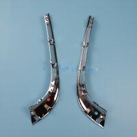 2Pcs Bumper Trim Finish Molding Left & Right Front For JAGUAR XF 2012 to 2015