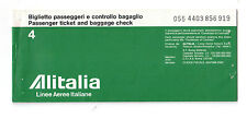 Alitalia Collectable Airline Brochures & Inflight Magazines