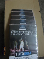 TUTOROM Formation Adobe After Effects CS6 et Trapcode Form 2.0 sur DVD neuf