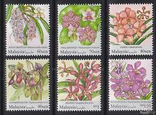 [SS] Malaysia 2017 National Definitive Series Orchids STAMP SET