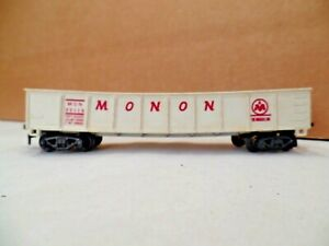 Gilbert American Flyer HO 33119 Monon Gondola, Made in 1963 Only