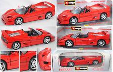 Bburago 3352 Ferrari F50, rosso corsa, 1:18, ohne Embleme