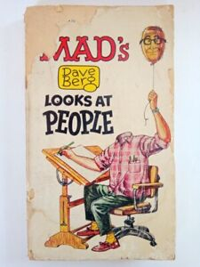 Antique Vintage Comic Book Mad's Dave Berge Looks At People 1966 7 Th Printing