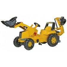 Rolly Toys Cat con Front caricatrici e poppa escavatore trattore escavatore Trettraktor anbauhe