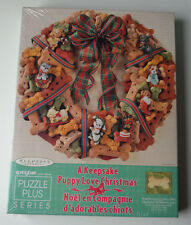Springbok Hallmark A Keepsake Puppy Love Christmas 500 Piece Puzzle Plus Series