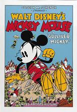 Gulliver Mickey Disney Dibujos Animados Película Cartel Póster