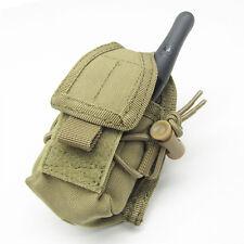 CONDOR MOLLE Modular Tactical Nylon HHR Radio Pouch ma56-003 TAN