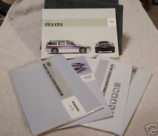 **NEW** 2005 Volvo V70R Owners Manual Set With Case 05