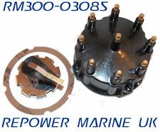 Distributor Cap & Rotor, for Mercruiser V8 Thunderbolt Ignition 5.0L, 5.7L 7.4L