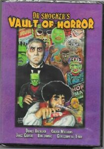 DR. SHOCKER'S VAULT OF HORROR  Rob Zombie Chuck Williams Guillermo del Toro DVD