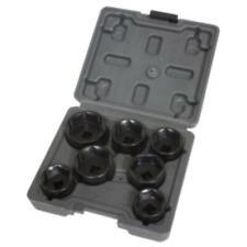 Lisle 13270 7 Piece Low Profile Filter Socket Set