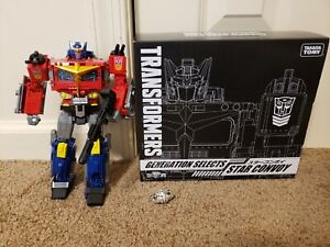 Transformers Generations Selects Star Convoy USA Optimus Prime Exclusive POTP