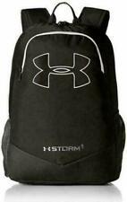 Under Armour Boys Scrimmage Backpack Black UA Storm Logo laptop bag NWT