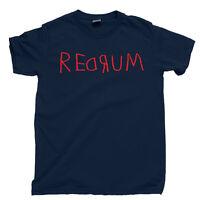 REDRUM T Shirt Spelled Backward Is Murder The Shining Stanley Kubrick Tee Poster