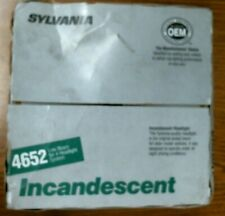 #1932 SYLVANIA INCANDESCENT 4652 LOW BEAM FOR 4 HEADLIGHT SYSTEM--FREE SHIPPING