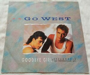 "Go West - Goodbye Girl - 12"" Vinyl Single - 1985"