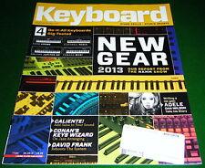 KURZWEIL PC3LE, ROLAND JUPITER-50, Yamaha MX61 KORG KROME 2013 Keyboard Magazine