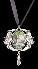 Halskette mit Einhorn - Pure Heart - Anne Stokes Medallion Halsschmuck Kette