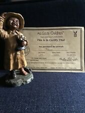 All God's Children Kacie - African American Figurine By Martha Holcombe