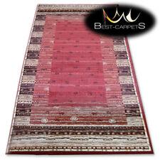 "TRADITIONAL AGNELLA RUGS terracotta frames ""STANDARD"" modern designs carpet"