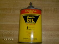 Vintage Outers 445 Empty Gun Oil Tin with Lead Tip
