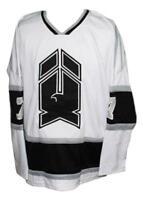Custom Name # New Haven Nighthawks Retro Hockey Jersey 1980 White Any Size