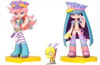 Twin Pack + Panty & Stocking With Chuck Galaxxxy PVC Painted Figure Japan NEW