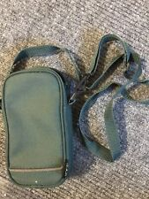 "Canvas Gear Case With Adjustable Shoulder Strap 8"" x 4"" x 2"""