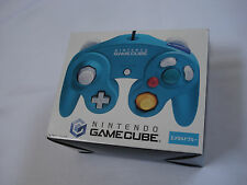 Nintendo Gamecube Emerald Blue Controller Officiel Authentique Boxed