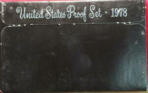 Uncirculated 1978 United States Proof Set